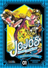 JOJO´S BIZARRE ADVENTURE 08 CRUSADERS 01
