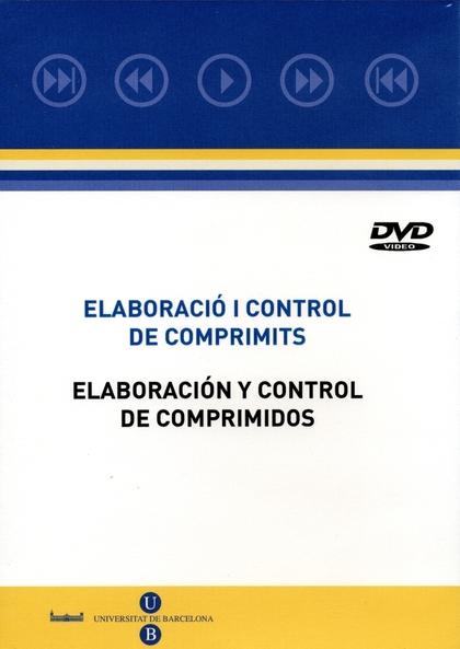 ELABORACIÓ I CONTROL DE COMPRIMITS