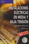 INSTALACIONES ELÉCTRICAS EN MEDIA Y BAJA TENSIÓN.