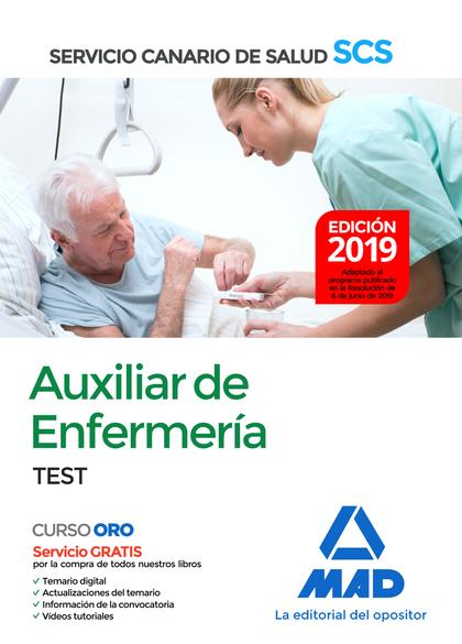 019 TEST AUXILIAR ENFERMERIA SERVICIO CANARIO SALUD.