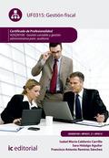 GESTIÓN FISCAL. ADGD0108 - GESTIÓN CONTABLE Y GESTIÓN ADMINISTRATIVA PARA AUDITO