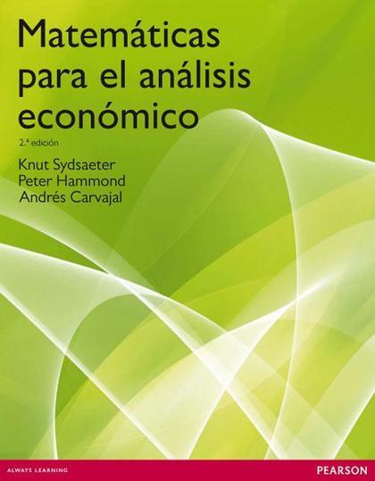 MATEMÁTICAS PARA EL ANÁLISIS ECONÓMICO (EBOOK)
