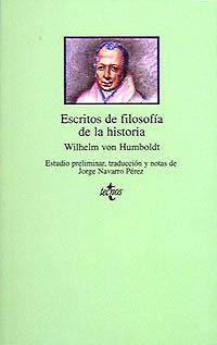 Escritos de filosofía de la historia