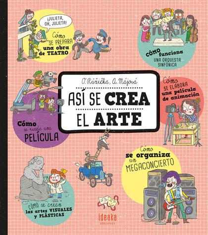 ASI SE CREA EL ARTE.