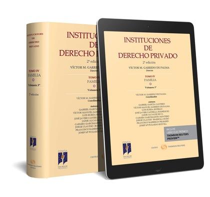 INSTITUCIONES DE DERECHO PRIVADO. TOMO IV FAMILIA. VOLUMEN 3º (PAPEL + E-BOOK).