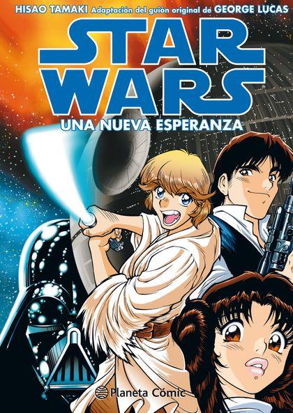 STAR WARS MANGA EP IV UNA NUEVA ESPERANZA.