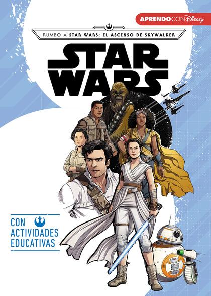 STAR WARS. RUMBO AL EPISODIO IX - EL ASCENSO DE SKYWALKER (LEO, JUEGO Y APRENDO. LOS VILLANOS D