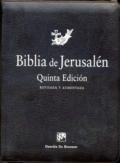 BIBLIA JERUSALEN MANUAL CREMALLERA.