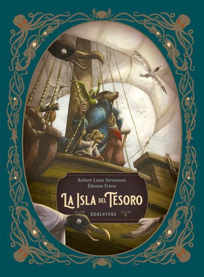 CLASICOS ILUSTRADOS LA ISLA DEL TESORO.