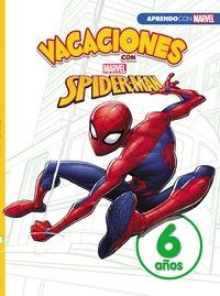 VACACIONES CON SPIDER-MAN (LIBRO EDUCATIVO MARVEL CON ACTIVIDADES). 6 AÑOS