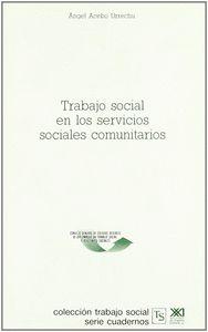TRABAJO SOCIAL SERVICIOS SOCIALES COMUNITARIOS