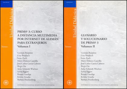 PRIM@ 3 : CURSO A DISTANCIA MULTIMEDIA POR INTERNET DE ALEMÁN PARA EXTRANJEROS.