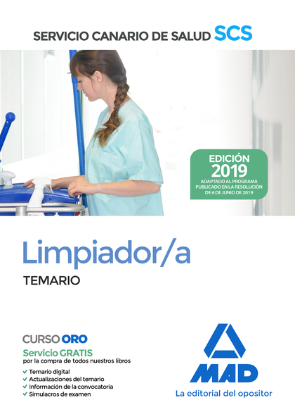 LIMPIADORA TEMARIO 2019