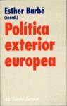 POLÍTICA EXTERIOR EUROPEA