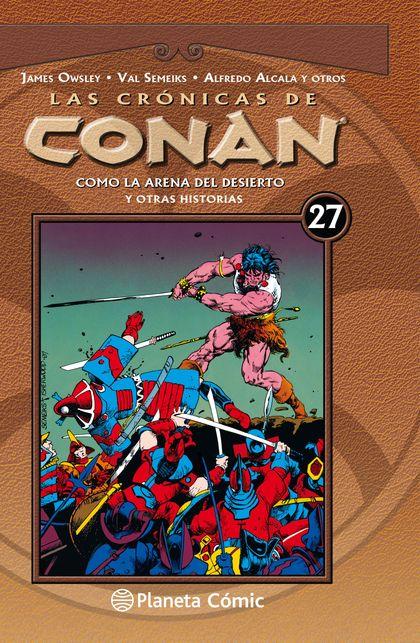 LAS CRÓNICAS DE CONAN Nº 27/34.