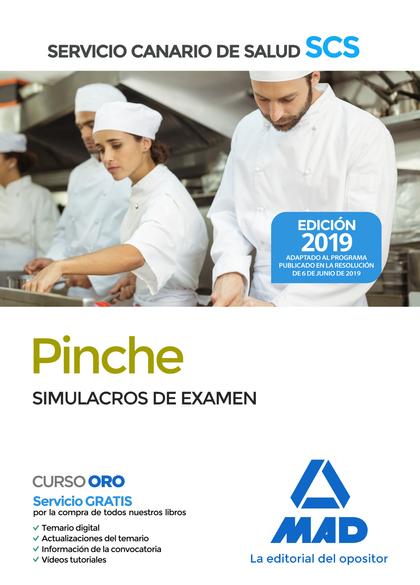 PINCHE DEL SERVICIO CANARIO DE SALUD. SIMULACROS DE EXAMEN