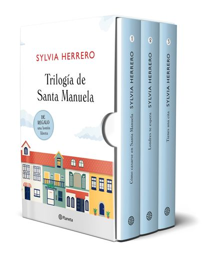 ESTUCHE SANTA MANUELA (CÓMO CASARSE EN SANTA MANUELA + LONDRES TE ESPERA + TIENE.