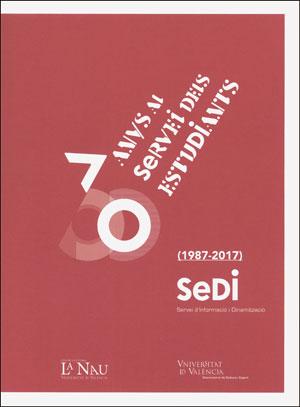 30 ANYS AL SERVEI DELS ESTUDIANTS (1987-2017).
