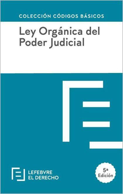 LEY ORGANICA DEL PODER JUDICIAL 2018