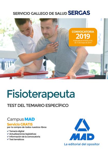 FISIOTERAPEUTA SERGAS TEST DEL TEMARIO ESPECIFICO.