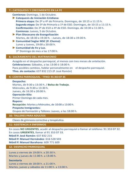 EVANGELIO POPULAR PARROQUIA SANTUARIO 18