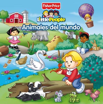 ANIMALES DEL MUNDO (FISHER-PRICE). LIBRO Y JUEGOS DE MEMORIA