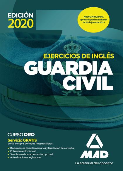 GUARDIA CIVIL EJERCICIOS DE INGLES. ED. 2020.