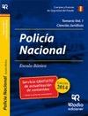 CUERPO NACIONAL DE POLICIA. ESCALA BÁSICA. TEMARIO VOL 1 CIENCIAS JURÍDICAS.