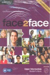 FACE2FACE UPPER INTERMEDIATE (2ND ED.) STUDENT´S BOOK WITH DVD-ROM AND HANDBOOK