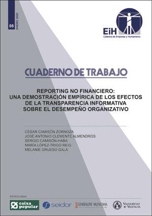 REPORTING NO FINANCIERO. UNA DEMOSTRACIÓN EMPÍRICA DE LOS EFECTOS DE LA TRANSPAR