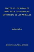Partes de los animales. Marcha de los animales. Movimiento de los animales.
