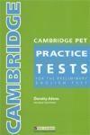 CAMB PET PRACTICE TEST ALUM.