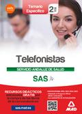 TELEFONISTAS DEL SERVICIO ANDALUZ DE SALUD. TEMARIO ESPECÍFICO VOLUMEN 2.