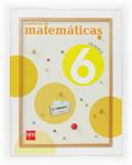 MATEMÁTICAS, 6 EDUCACIÓN PRIMARIA. 3 TRIMESTRE. CUADERNO