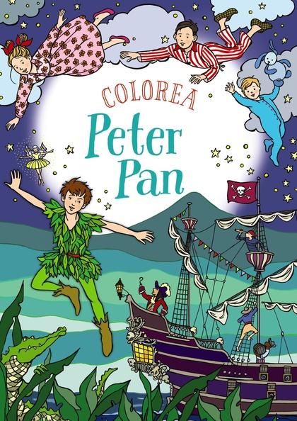 COLOREA PETER PAN.