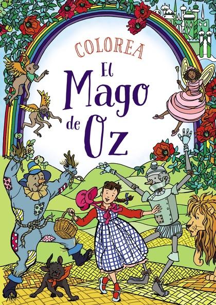 COLOREA EL MAGO DE OZ.