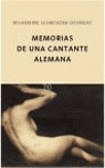 MEMORIAS DE UNA CANTANTE ALEMANA