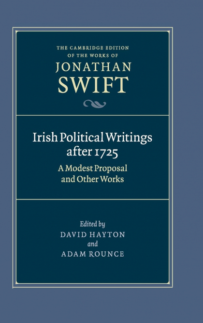 IRISH POLITICAL WRITINGS AFTER 1725