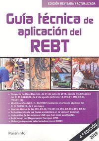 019 GUIA TECNICA DE APLICACION DEL REBT 4ªED.