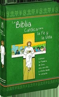 LA BIBLIA CATÓLICA PARA LA FE Y LA VIDA. EDICIÓN DOS TINTAS / SÍMIL PIEL CON CREMALLERA