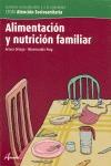 ALIMENTACIÓN Y NUTRICIÓN FAMILIAR, CICLO FORMATIVO DE GRADO MEDIO DE ATENCIÓN SOCIOSANITARIA