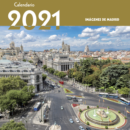 2021 CALENDARIO IMAGENES DE MADRID