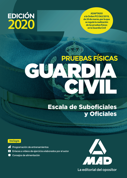 GUARDIA CIVIL ESCALA DE SUBOFICIALES. PRUEBAS FÍSICAS.