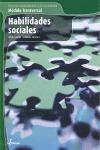HABILIDADES SOCIALES. SERVICIOS SOCIOCULTURALES A LA COMUNIDAD