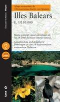 MAPA ECOTURÍSTICO DE ISLAS BALEARES, E 1:150.000