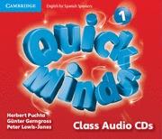 QUICK MINDS LEVEL 1 CLASS AUDIO CDS (4).