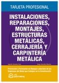 INSTALACIONES REPARACIONES MONTAJES ESTRUCTURAS METALICAS CERRAJERIA Y. Y CARPINTERIA METALICA