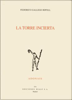 LA TORRE INCIERTA