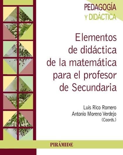 ENSEÑANZA Y APRENDIZAJE DE LAS MATEMÁTICAS EN EDUCACIÓN SECUNDARIA.