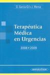 TERAPÉUTICA MÉDICA EN URGENCIAS 2008-2009